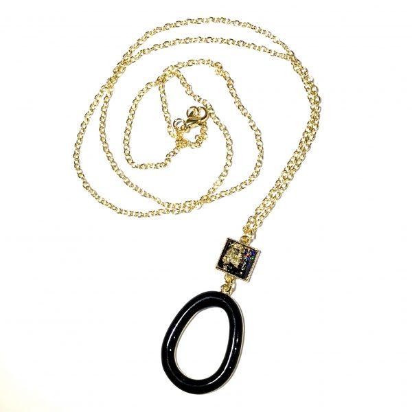 sort-tøft-smykke-halskjede