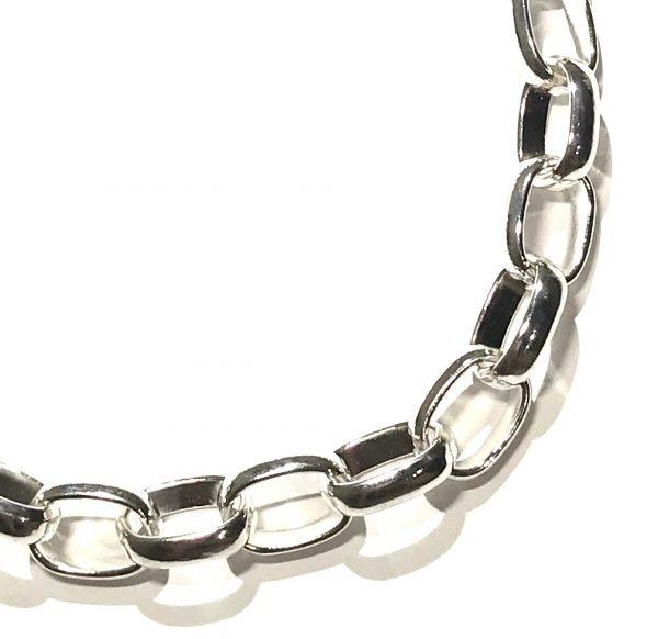 kjetting-sølv-smykke-halskjede