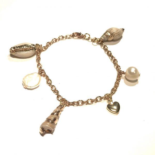 skjell-ferskvannsperle-perle-hjerte-gull-armbånd