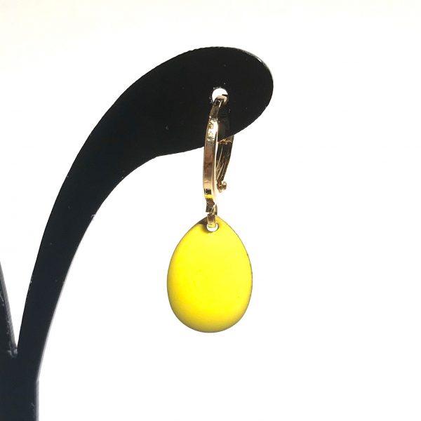 14K-gull-gul-dråpe-øreringer-ørepynt