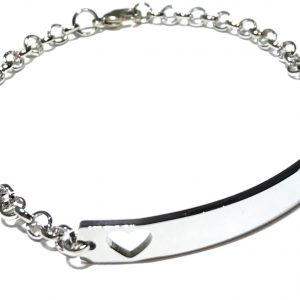 hjerte-sølv-armbånd