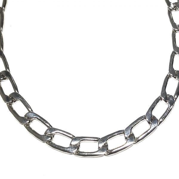 tøff-kraftig-sølv-smykke-halskjede