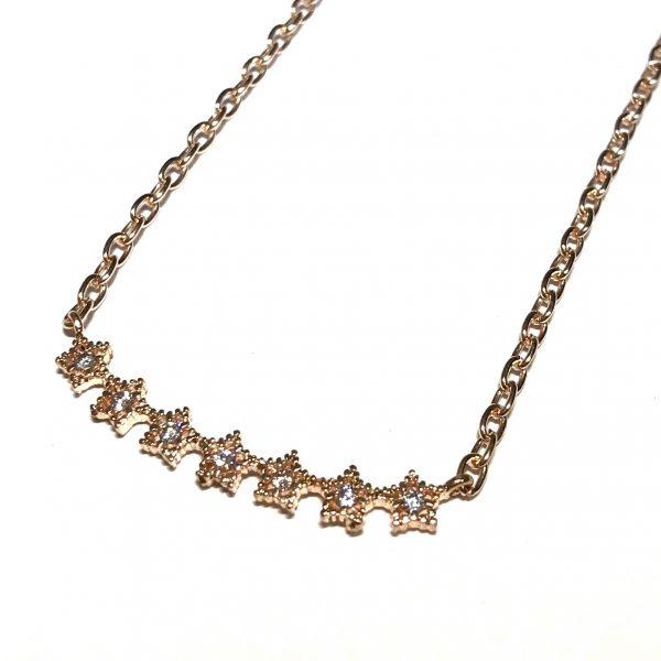 stjerne-gull-klassisk-smykke-halskjede
