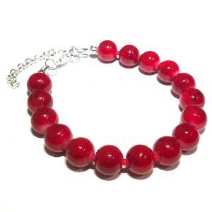 rød-perle-armbånd