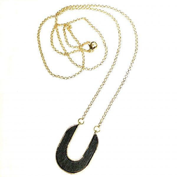 sort-tre-smykke-halskjede