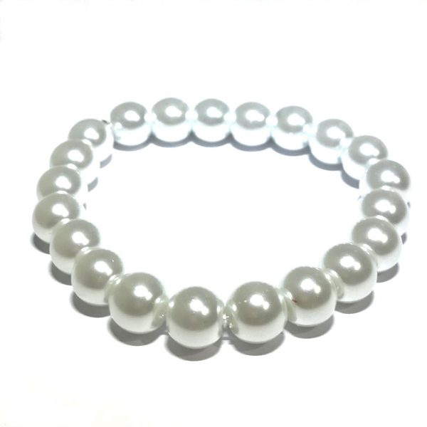 hvit-perle-armbånd
