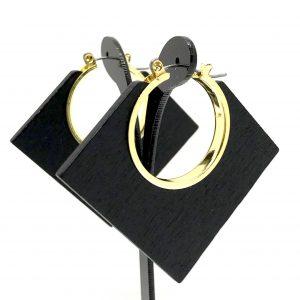 sort-tre-kvadrat-øreringer-ørepynt