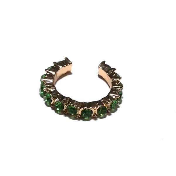 gull-grønn-earcuff
