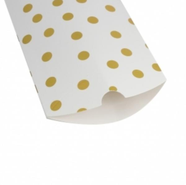 hvit-gull-prikkete-gaveeske