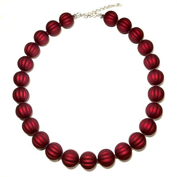rød-tøff-statement-smykke-halskjede