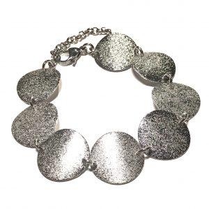 klassisk-sølv-stardust-glitter-armbånd