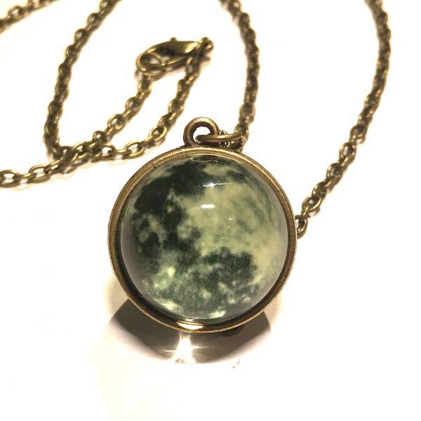 måne-planet-smykke-halskjede