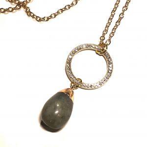 grå-spektrolitt-steiv-bling-smykke-halskjede