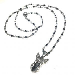 sort-hund-chihuahua-smykke-halskjede