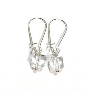 blank-glass-kube-øreanheng-ørepynt