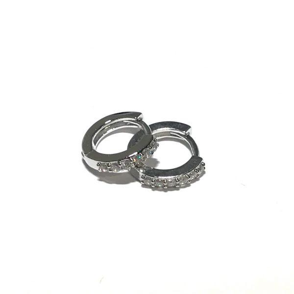 sølv-glitter-øreringer-ørepynt