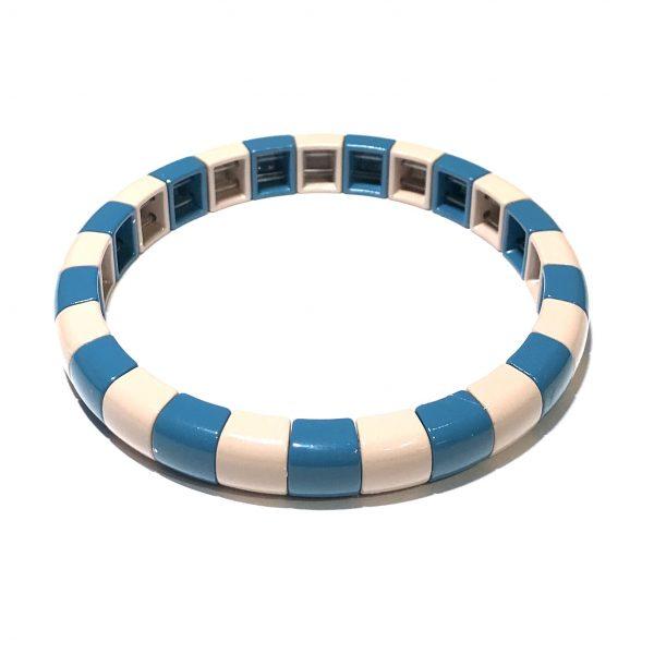 blå-rosa-elastisk-armbånd