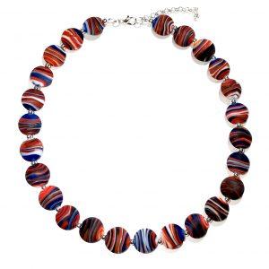 rød-hvit-blå-smykke-halskjede