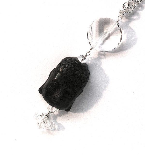 onyx-swarovski-budda-smykke-halskjede