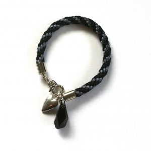 sort-grå-silke-swarovski-kumihimo-armbånd