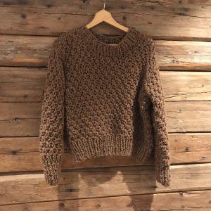 lykke-ull-genser-alpakka-håndstrikk-strikk-moskus