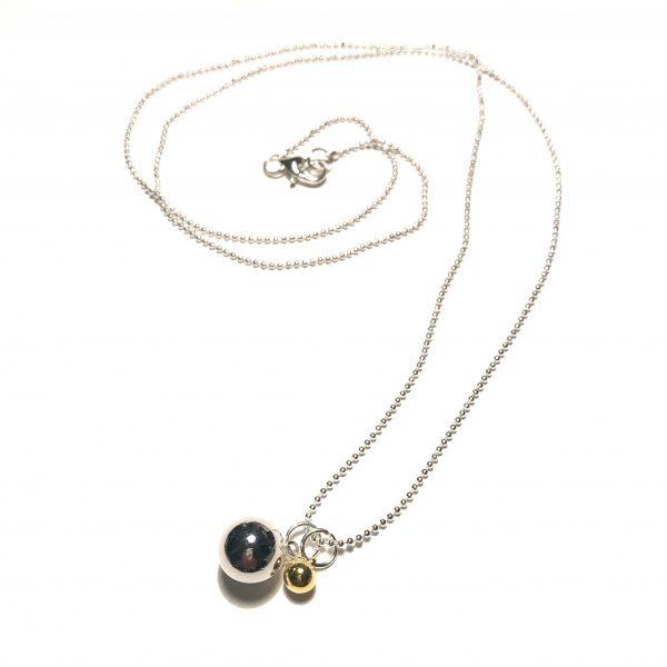gull-sølv-kule-klassisk-smykke