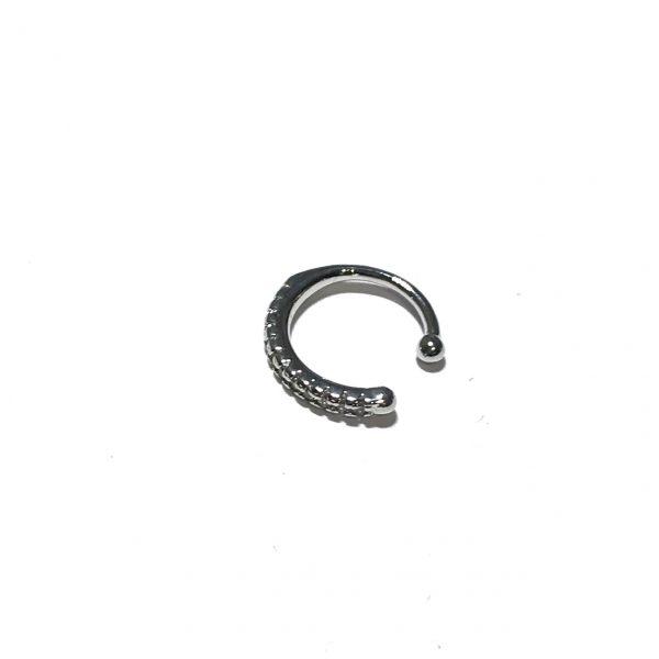 sølv-glitter-earcuff