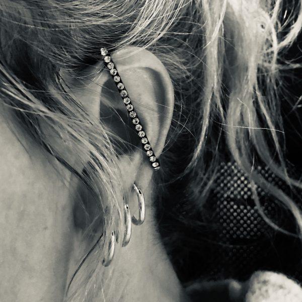 gull-bling-glitter-earcuff-ørepynt