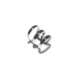 sølv-enkel-klassisk-earcuff