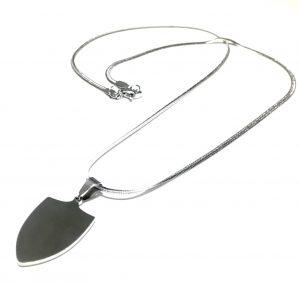 tag-skjold-stål-herre-smykke-halskjede