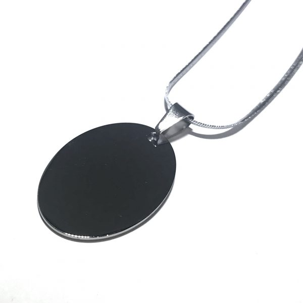 herre-stål-tag-smykke-halskjede