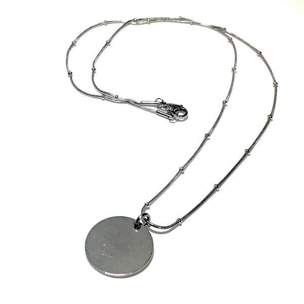 stål-klassisk-enkelt-smykke-halskjede