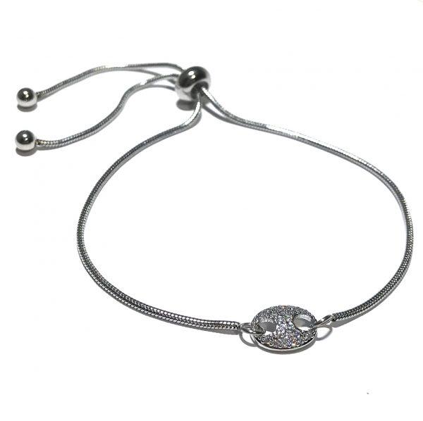 stål-onesize-justerbar-slider-armbånd