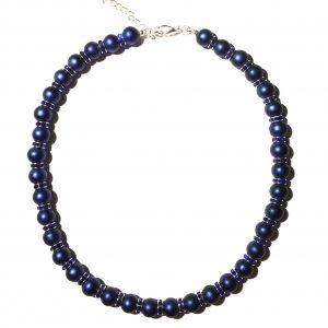 blått-perle-halskjede-smykke