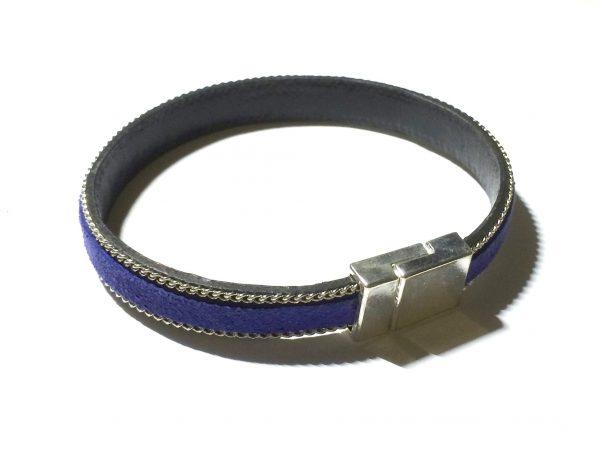 blått-armbånd