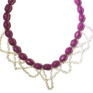 lilla-halskjede-smykke