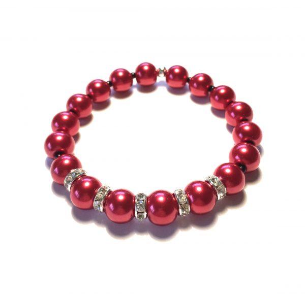 rødt-perle-armbånd