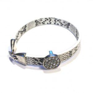 hvitt-bling-slange-armbånd