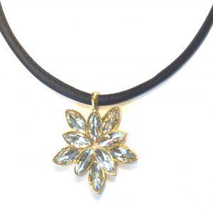 blomst-bling-halskjede-smykke