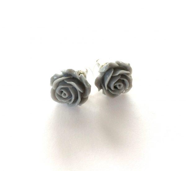 grå-rose-øredobber-ørepynt