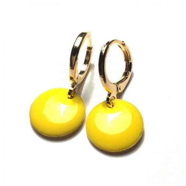 gule-øredobber-ørepynt-øreanheng