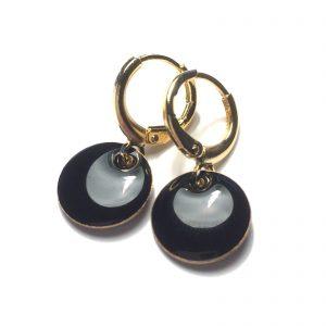sorte-ørepynt-øredobber-øreanheng