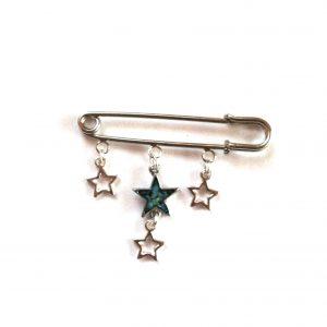 pyntenål-nål-brosje-stjerne