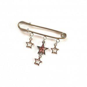 nål-pyntenål-brosje-stjerner