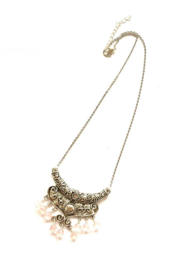 halskjede-smykke-rosa-boho