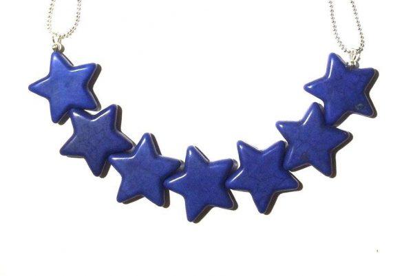 smykke-halskjede-stjerne-turqouise