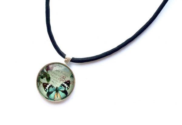 smykke-halskjede-sommerfugl-fallskjermline