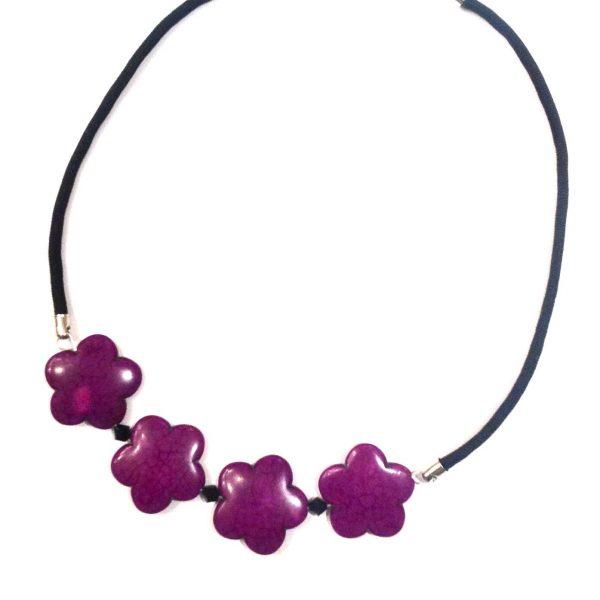 lilla-håndlaget-halskjede-smykke