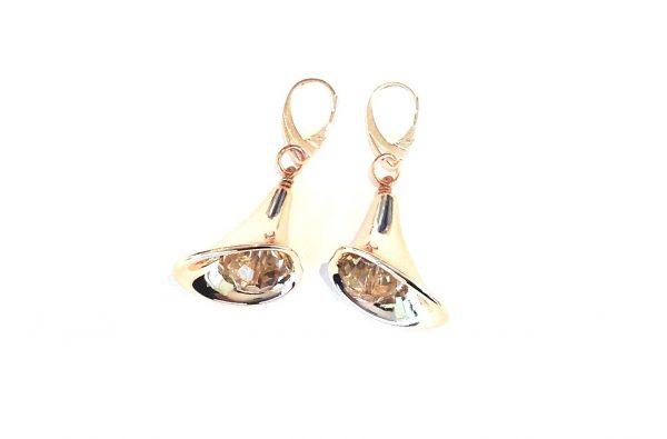 billig-ørepynt-øreanheng-øredobber-rosegull