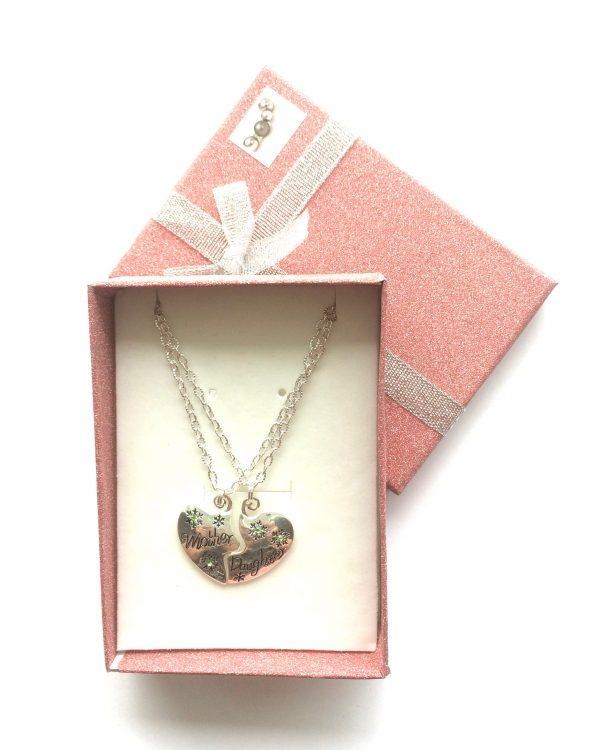 mor-og-datter-smykke-halskjede-gaveeske